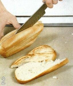 Греческие тосты с баклажаном 2