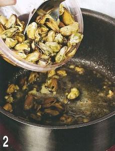 Креветки и мидии на картофеле «Пай» 2