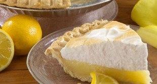 Лимонный тарт кусок