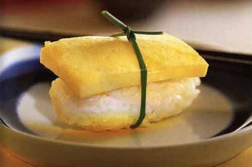 Нигири-суши с омлетом