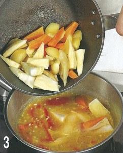 Овощи в горчичном соусе 3
