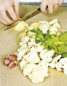 Рагу из бараньих ребрышек с овощами 2