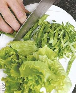 Салат с морепродуктами 2
