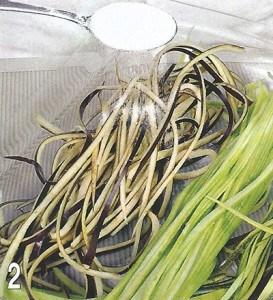 Спагетти цветные из овощей 2