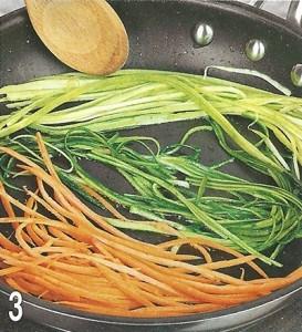 Спагетти цветные из овощей 3