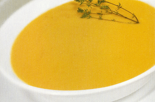 Суп лимонный холодный
