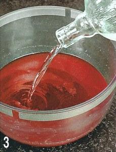 Вино клубничное 3