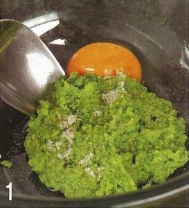 Зразы из рыбы с зеленым горошком 1
