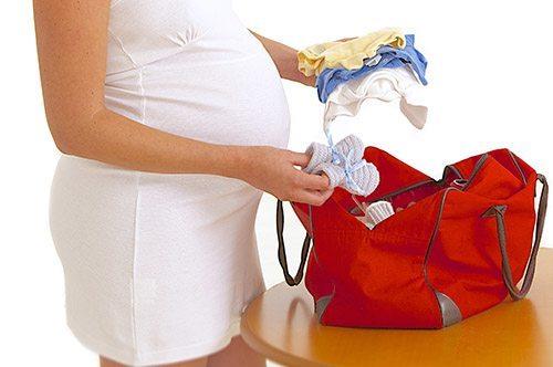 Беременная готовится к родам