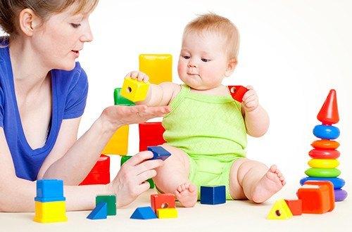 Игрушки и игры с мамой