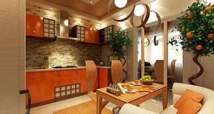 Кухня большая