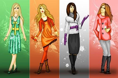 Макияж по индивидуальному цветовому типу и по времени года - зима, весна, лето, осень