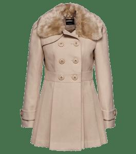 Небольшие пальто с подчеркнутой линией талии