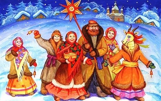 На Васильев день дети, молодые парни и девушки ходили по домам, выпрашивая пироги со свининой, а также все остальное, чем угостят радушные хозяева