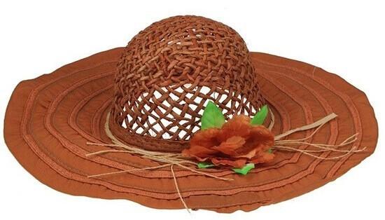 Текстильная шляпка