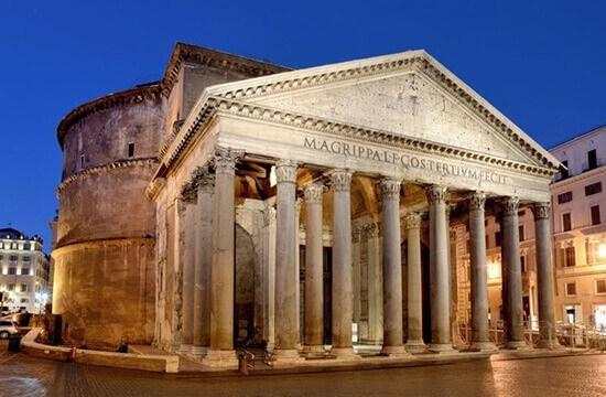 ПАНТЕОН. Грандиозный памятник Древнего Рима