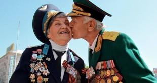 Ветераны поздравляют друг-друга