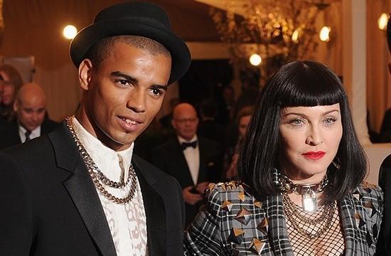 Мадонна с Брахимом Заибатом