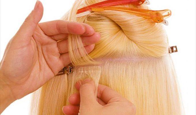Нарастить волосы можно двумя методами: горячим и холодным