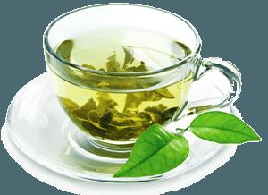 Зеленый чай - чашка