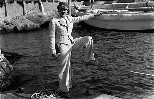 Марлен Дитрих в мужском костюме