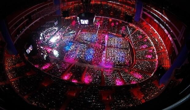 Арена «Эрикссон-Глоб» вмещает 16 тысяч зрителей