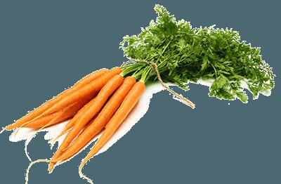 Пучок моркови перевязанный веревкой