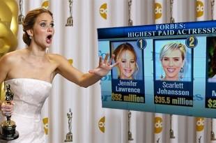 25-летняя звезда франшизы «Голодные игры» Дженнифер Лоуренс