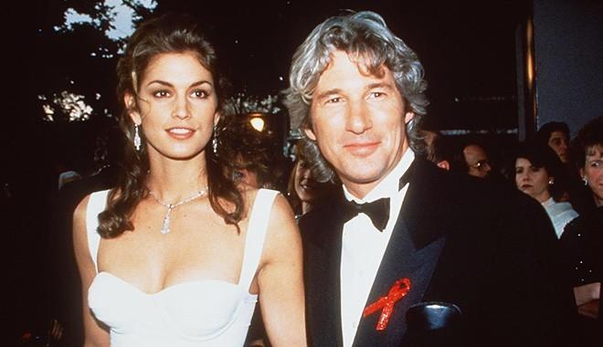 Синди Кроуфорд с Ричардом Гиром 5 лет в браке