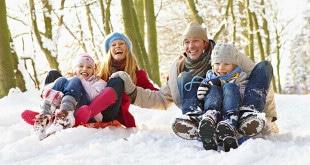 Счастливая здоровая семья