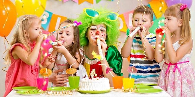 Детский праздник с клоуном
