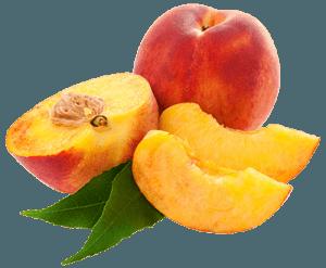 Персики с дольками