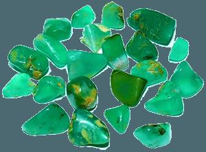 Хризопраз камни