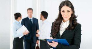 Женщина при приеме на работу