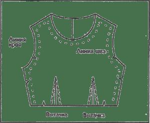 Патронка - ситцевая копия предмета одежды