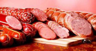 Красиво порезанные колбасы