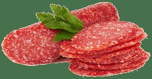Колбаса и зелень петрушки