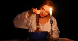 Женщина со свечой