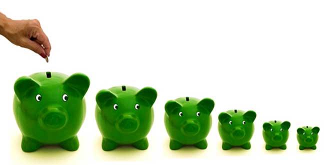 6 зеленых копилок