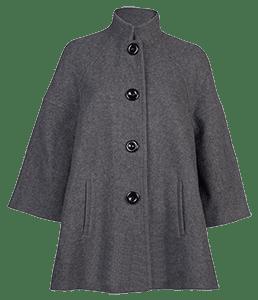 Пальто-трапеция