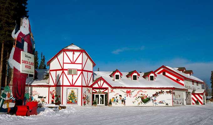 Санта-Клаус на Аляске