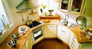 Интерьер кухни малых габаритов