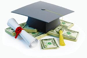 Шапка студента и деньги