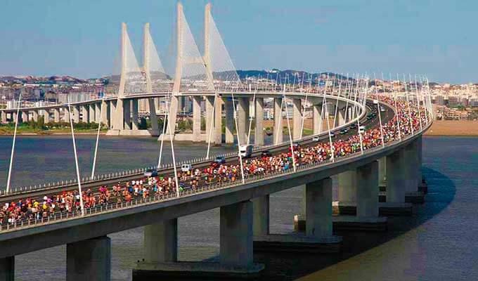 Мост Васко да Гама - самый длинный в Европе