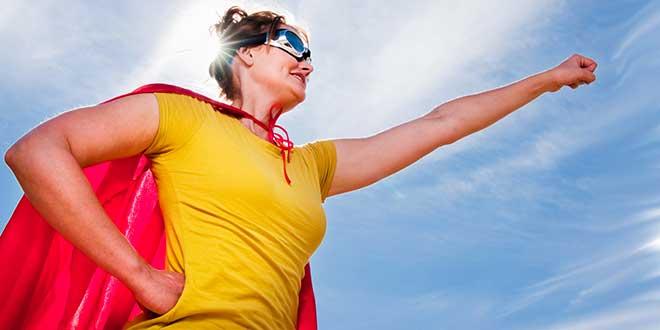 Женщина-супермен