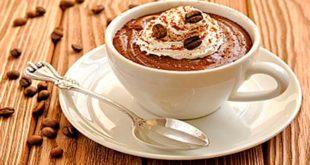 Шоколадный кофе-мокко в чашке