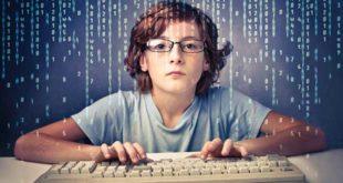 Мальчик с клавиатурой
