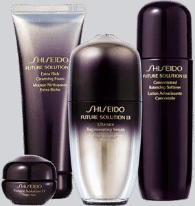 Традиционно в системе базового ухода Shiseido после очищения кожи используются софтнеры / смягчающие лосьоны