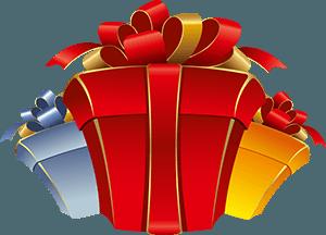 Нарисованные подарки
