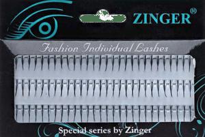 Пучковые ресницы сделаны из синтетических материалов
